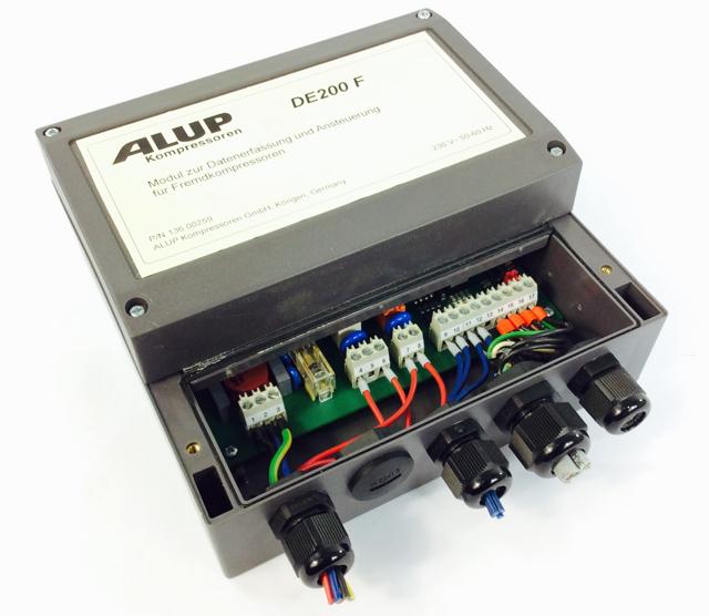 Alup Kompressoren DE200 F / 2E-2RA ALUP Modul zur Datenerfassung und Ansteuer...